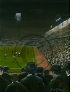 'From The Leazes End' Newcastle United by Dick Gilhespy (Print)