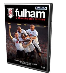 Fulham 2 0 Manchester United (DVD