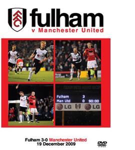 Fulham FC v Manchester United 2009 (DVD)