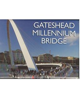 Gateshead Millennium Bridge (Fridge Magnet)