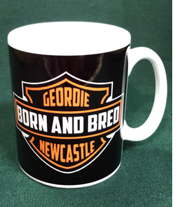 Geordie Born And Bred Newcastle Harley (Mug)