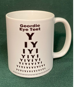Geordie Eye Test             (Mug)