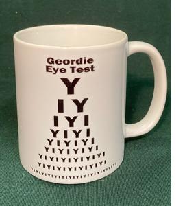 Geordie Eye Test             (Mug)