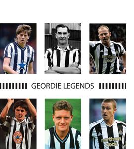 Geordie Legends Newcastle United (Greeting Card)