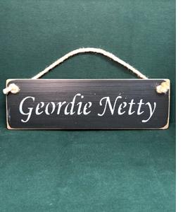 Geordie Netty (Sign)