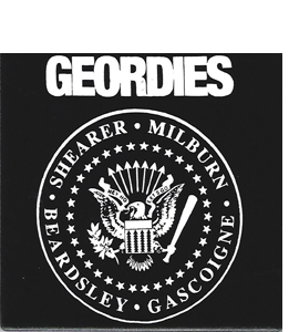 Geordies Ramones (Ceramic Coaster)
