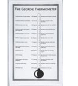 Geordie Thermometer (Tea Towel)