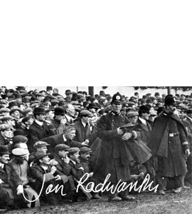 Geordies At Goodison Park 1910 (Print)
