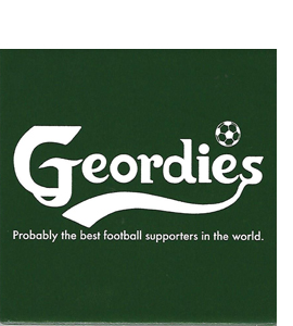 Geordies Probably Best Football Supporters (Ceramic Coaster)
