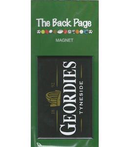Geordies Tyneside Guinness (Fridge Magnet)