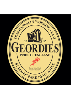 Geordies Guinness Traditional (Greetings Card)