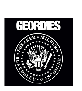 Geordies Ramones (Greetings Card)