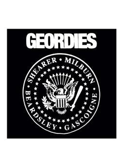 Geordies Ramones (Greetings Card)