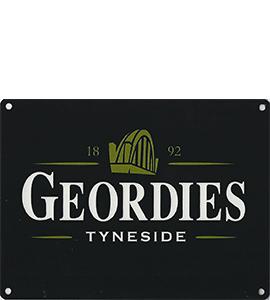 Geordies Tyneside (Metal Sign)