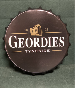Geordies Tyneside (Large Metal Bottle Top)
