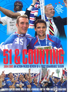 Glasgow Rangers FC: 51 and Counting.. (DVD)