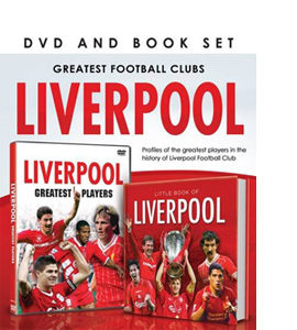 Greatest Football Clubs: Liverpool (DVD/Book Gift Set)