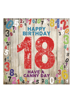 Happy Birthday- 18. Have a Canny Day (Greeting Cards)