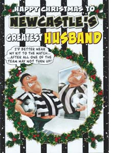 Happy Christmas to N'cles Greatest Husband (Greeting Card)