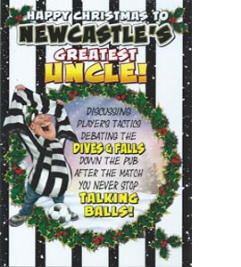 Happy Christmas to N'cles Greatest Uncle (Greeting Card)
