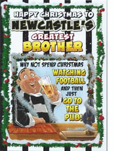 Happy Christmas to N'cles Greatest Brother (Greeting Card)