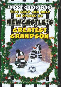 Happy Christmas to N'cles Greatest Grandson (Greeting Card)