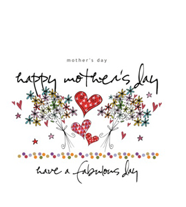 Happy Mother's Day (Greetings Card)