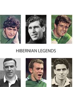 Hibernian Legends (Greetings Card)