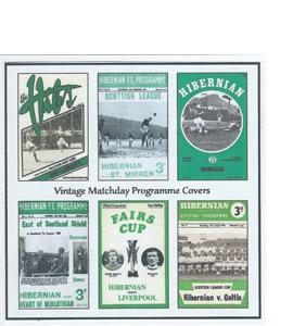 Hibernian Vintage Programme (Greeting Card)