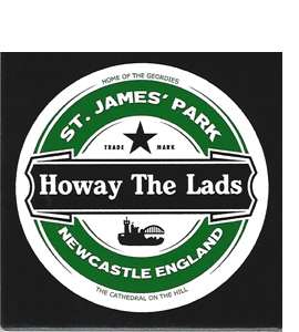 Howay The Lads Beer (Ceramic Coaster)