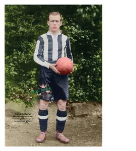 Hughie Gallacher Newcastle United Legend 1925-1930 (Print)