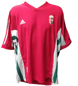 Hungary 1998/00 Home Shirt