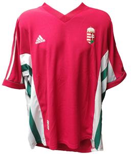 Hungary 1998/00 Home Shirt