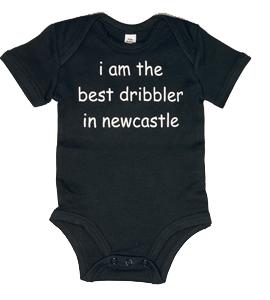 I Am The Best Dribbler In Newcastle, Vest (Babywear)