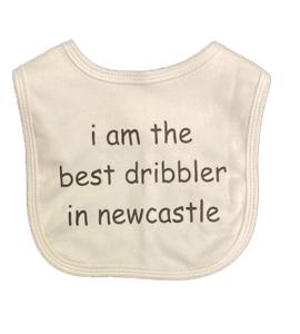 I Am The Best Dribbler In Newcastle, Bib (Babywear)