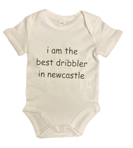 I Am The Best Dribbler In Newcastle, Vest (Babywear)