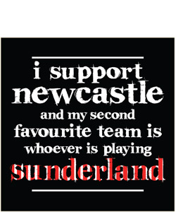 I Support Newcastle (Greeting Card)