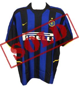 Inter Milan 2002-03 Home Shirt