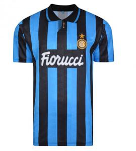 Inter Milan (Internazionale) 1992 Official Retro Home Shirt