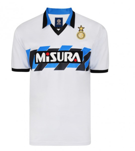 Inter Milan (Internazionale) 1990 Official Retro Away Shirt