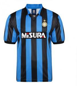 Inter Milan (Internazionale) 1990 Official Retro Home Shirt