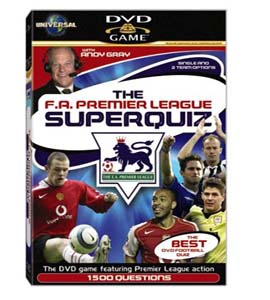 Interactive FA Premier League SuperQuiz (DVD)