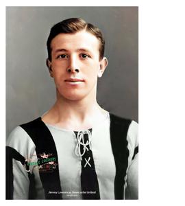 Jimmy Lawrence Newcastle United Legend 1904-1922 (Print)