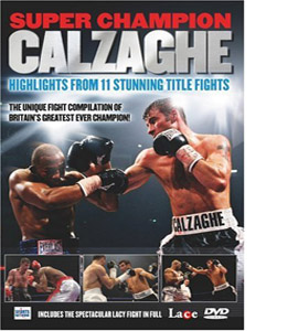 Joe Calzaghe Super Champion (DVD)
