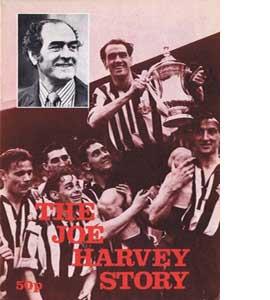 Joe Harvey Newcastle United Testimonial 76/77 (Programme)
