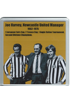 Joe Harvey Newcastle United (Coaster)