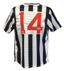 John Anderson Newcastle United Home Shirt 1988/89 (Match-Worn)