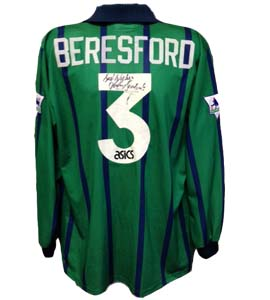John Beresford's Newcastle United Shirt 1993/95 (Match-Worn)
