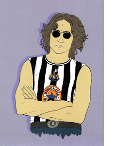 John Lennon Newcastle (Greetings Card)