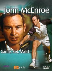 John McEnroe - Game, Set, Match (DVD)